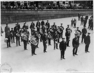Aldbourne Band in Whitehall 1914