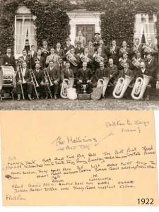 Aldbourne Silver Prize Band 1922