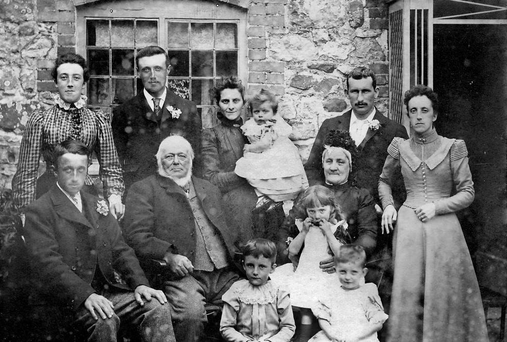Stephen & Mary Ann Liddiard and their family