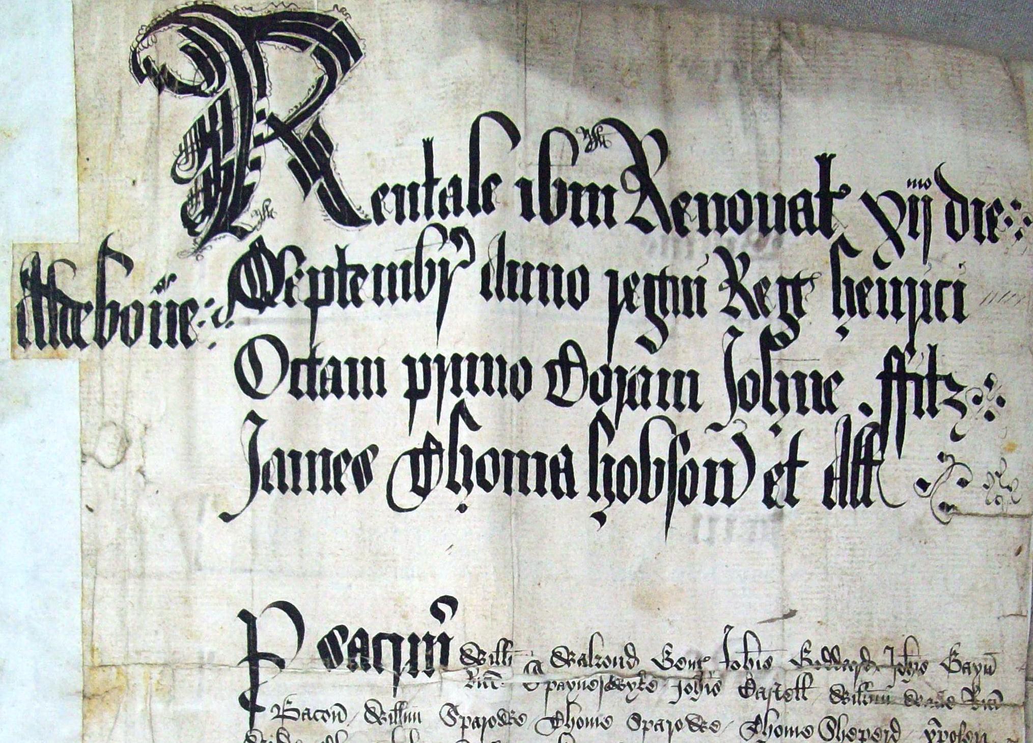 Rent Roll 1509