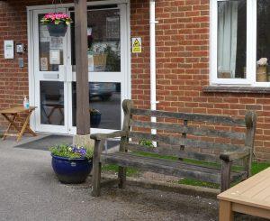 Benches: ANH Entrance No 2