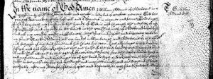 The Will of William ADAMS 1649